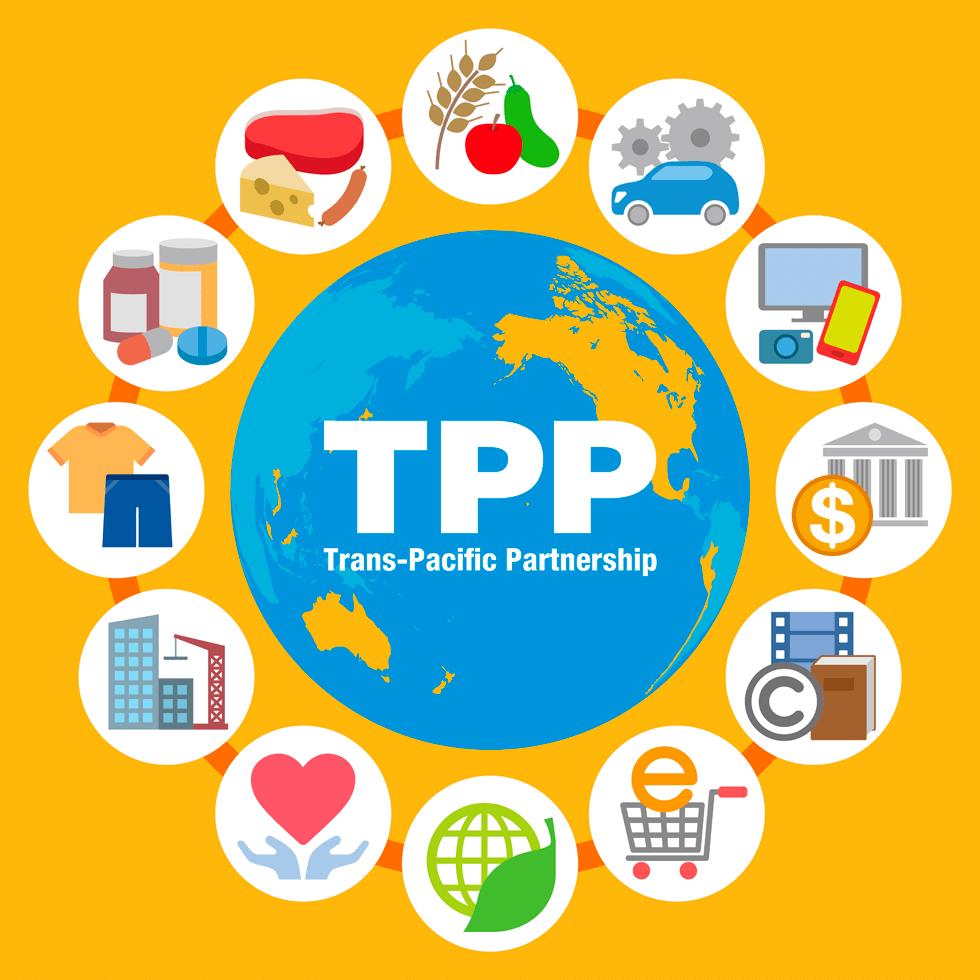 TPP交渉は世界潮流-グローバルな経済連携に期待