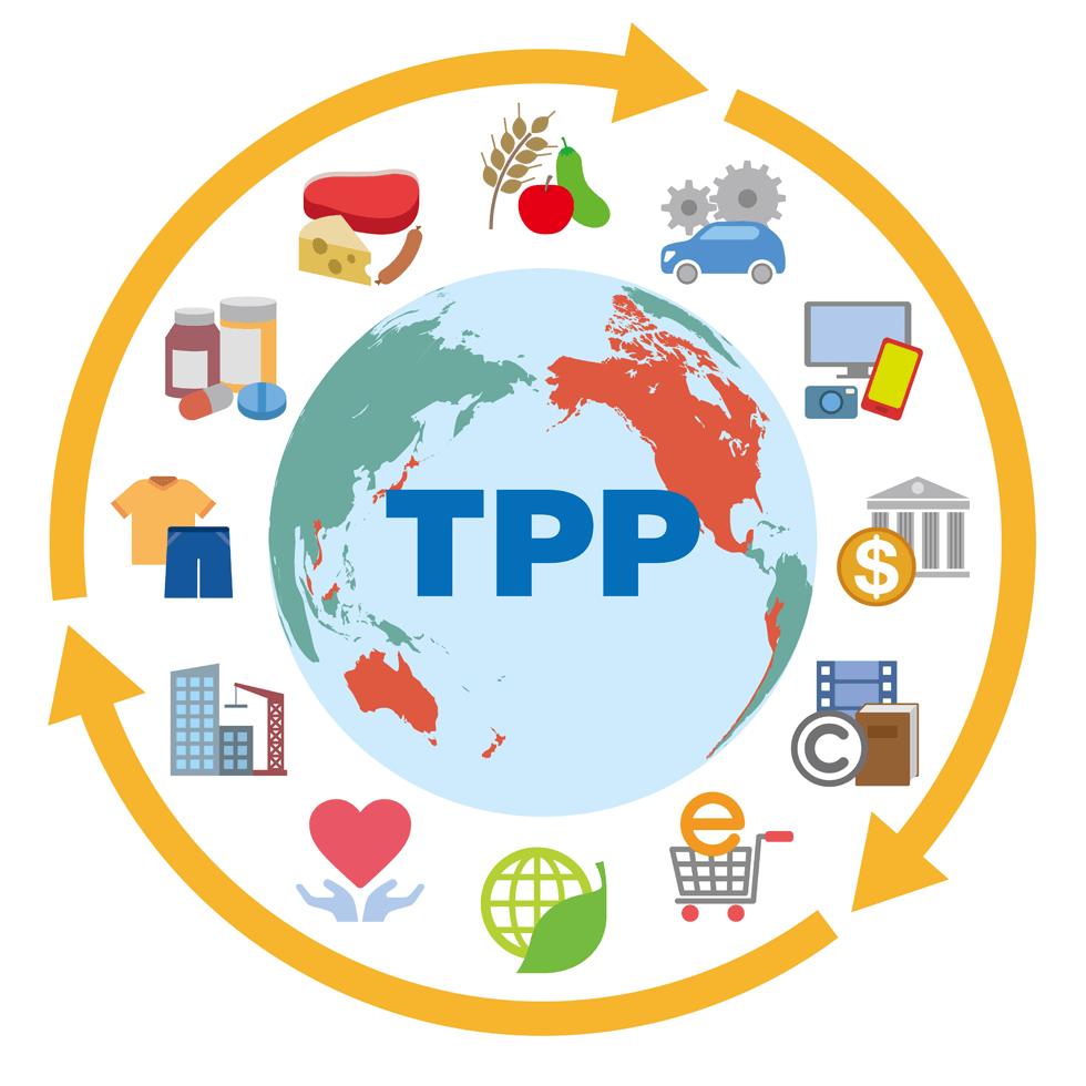 TPP、各国の動向と日本の未来予想