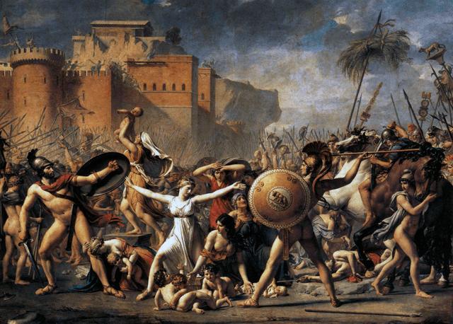サビニ人略奪に見られる初期ローマの「ならず者…