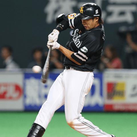 柳田悠岐(ソフトバンク)が突き進む三冠王への道。最大の壁は本塁打王を狙う助っ人スラッガーたちだ