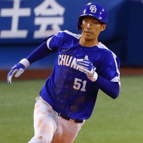 三塁打王は京田陽太(中日)。では、二塁打王は? 今季の「ノンタイトル王」たち!〜セ・リーグ野手編