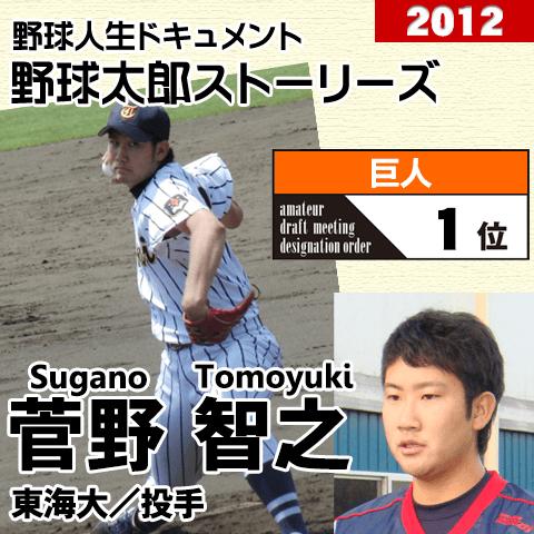 《野球太郎ストーリーズ》巨人2012年ドラフト1位、菅野智之。雌伏の1年を正解だったと認めさせるために(1)